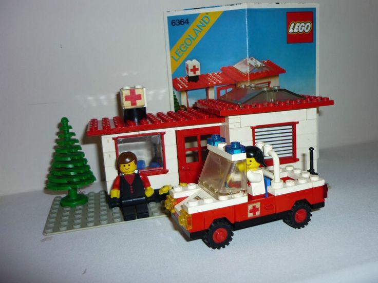 LEGO 6364 - Paramedic Unit - anno 1980