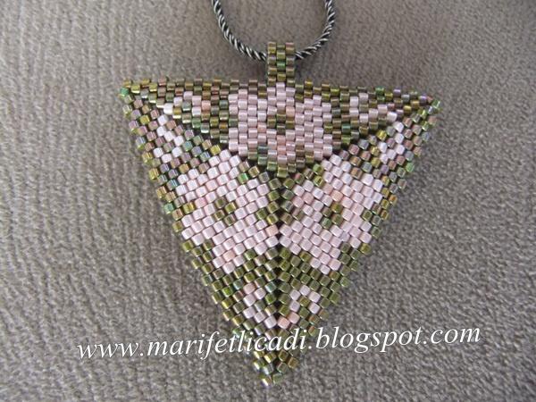 miyuki necklace...