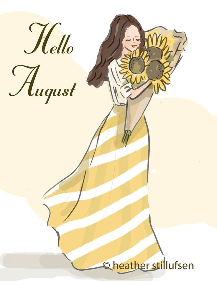 AUGUST IS MY FAVORITE MONTH BECAUSE IT'S MY BIRTHDAY MONTH.
