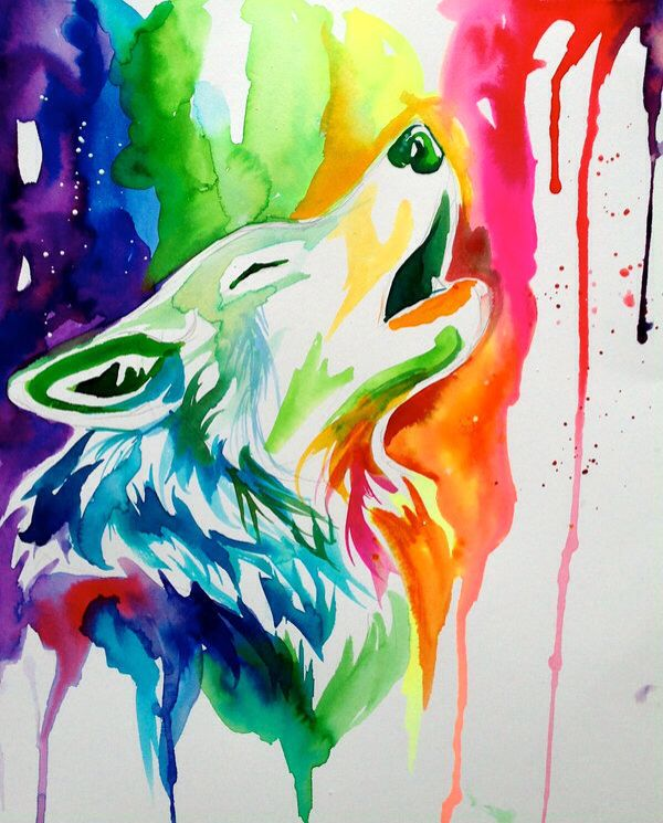 41 Best R A I N B O W S Images On Pinterest Watercolor