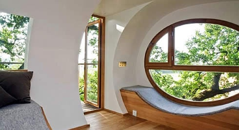 Modern Window Design Ideas, I love round construction period, I think it's more healthy to live in!