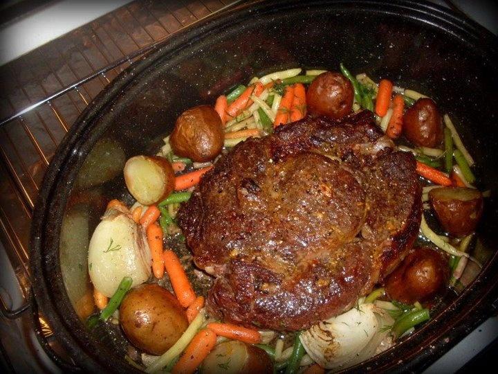 mustard peppercorn rib roast lynne curry s prime rib double rib eye ...