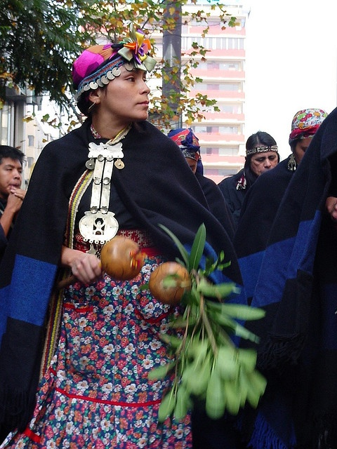 Mapuche woman, South America