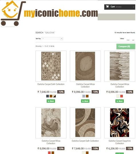 Now we have new online portal partner #myiconichome. Check out our #carpet designs in myiconichome.com.  Shop our #CarpetDesigns at very attractive price by following the #image.