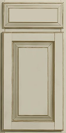 Mushroom glazed kitchen cabinets - Merillat Masterpiece Cabinetry Townley Square Maple Willow With Cocoa
