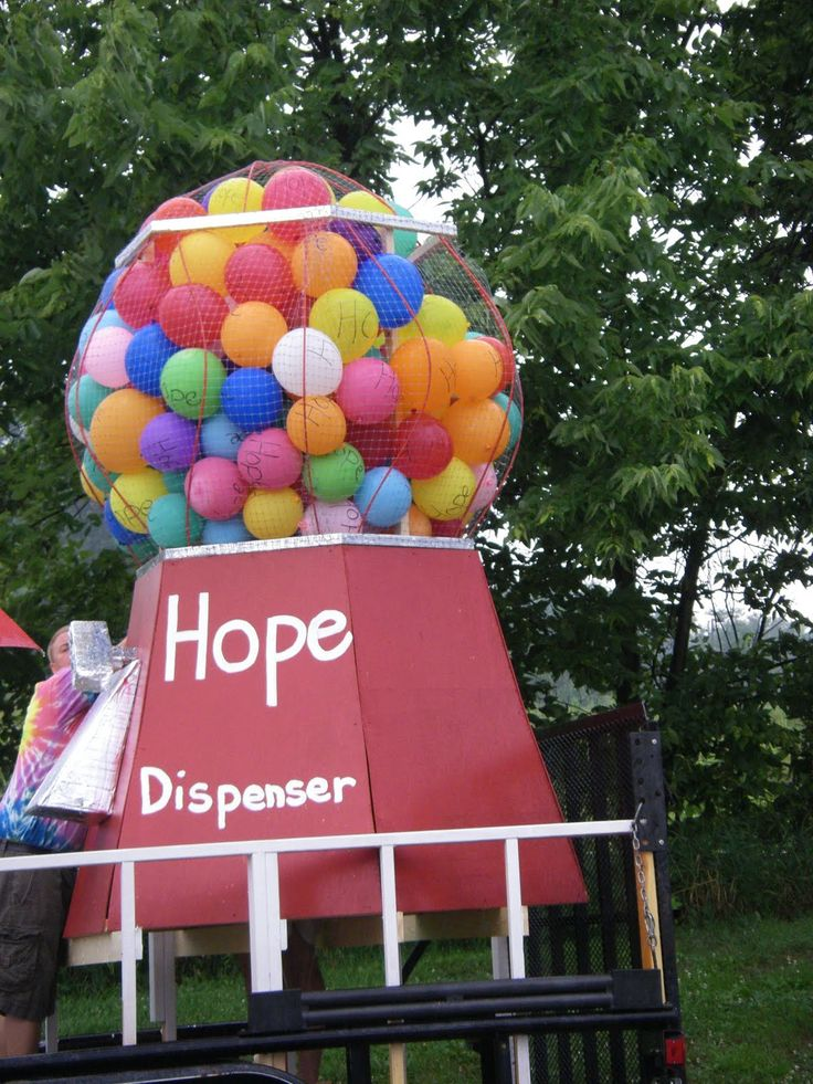Candy Land Gumball machine idea