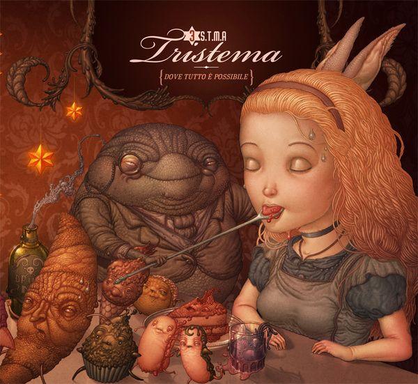 Digipak for Tristema by Felideus Bubastis