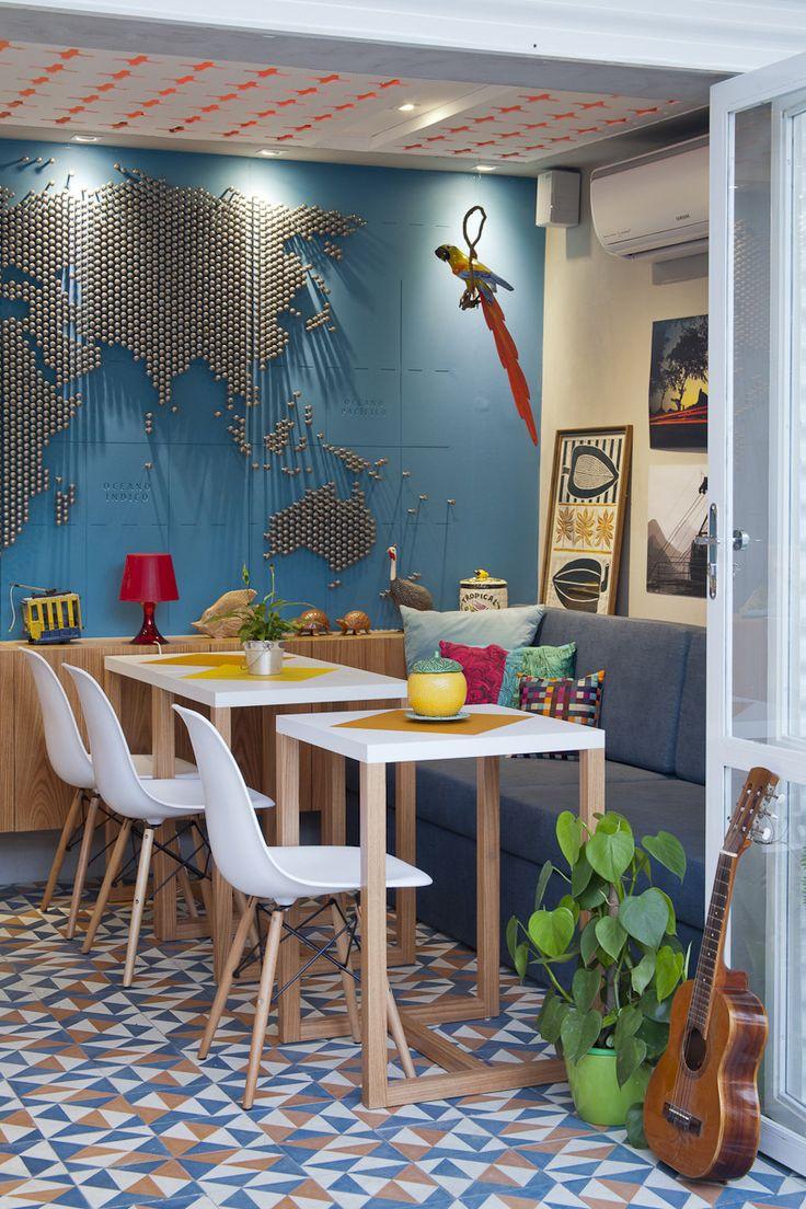 PKB + vital enliven rioow hostel with traditional latticework #hotelinteriordesigns