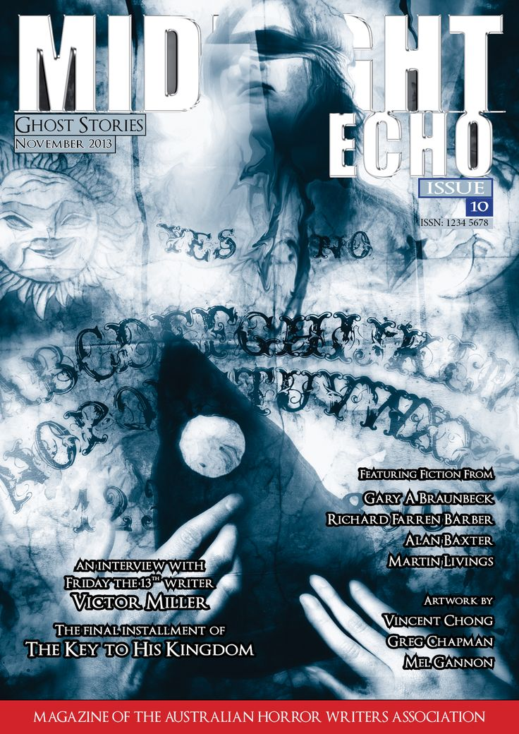 Cover for Midnight Echo Issue 10. Art by Vincent Chong, design by Cohesion Editing and Proofreading. www.cohesionediting.com