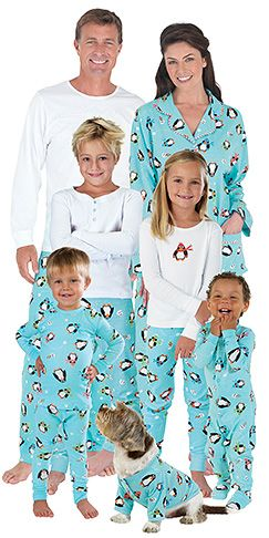 Coordinating Family Looks for the Holidays: Pajamagram Christmas Pajamas for Adults, Kids and Babies