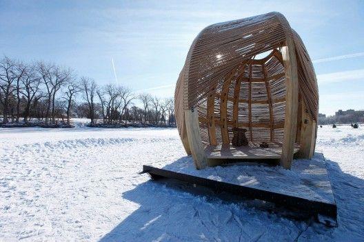 Rope Pavilion / Kevin Erickson. Winnipeg, MB, Canada. Very cool.