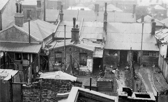 1930s inner-city slum, Melbourne