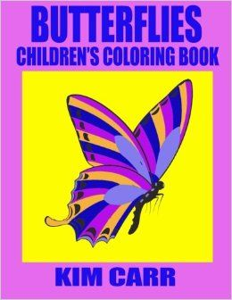 The Butterflies Children's Coloring Book can keep your children occupied for hours, coloring their favorite cartoon type butterflies. Coloring at such a young age is great for cognitive, fine motor skill development while they learn to color in the lines and make their parents their own beautifully colored pictures filled with love.