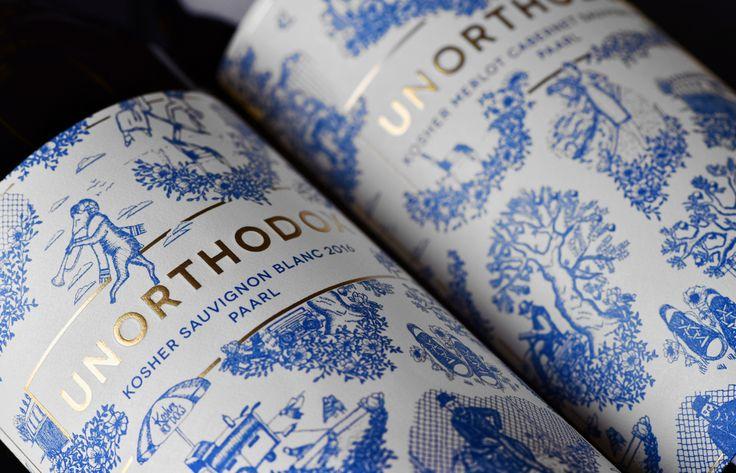Unorthodox Kosher Wines — The Dieline - Branding & Packaging Design