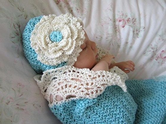 Crochet Vintage Snuggle Cocoons Are Gorgeous