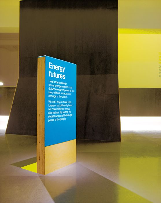 Science Museum – Energy Gallery 2004 | Exhibition | Graphic Thought Facility