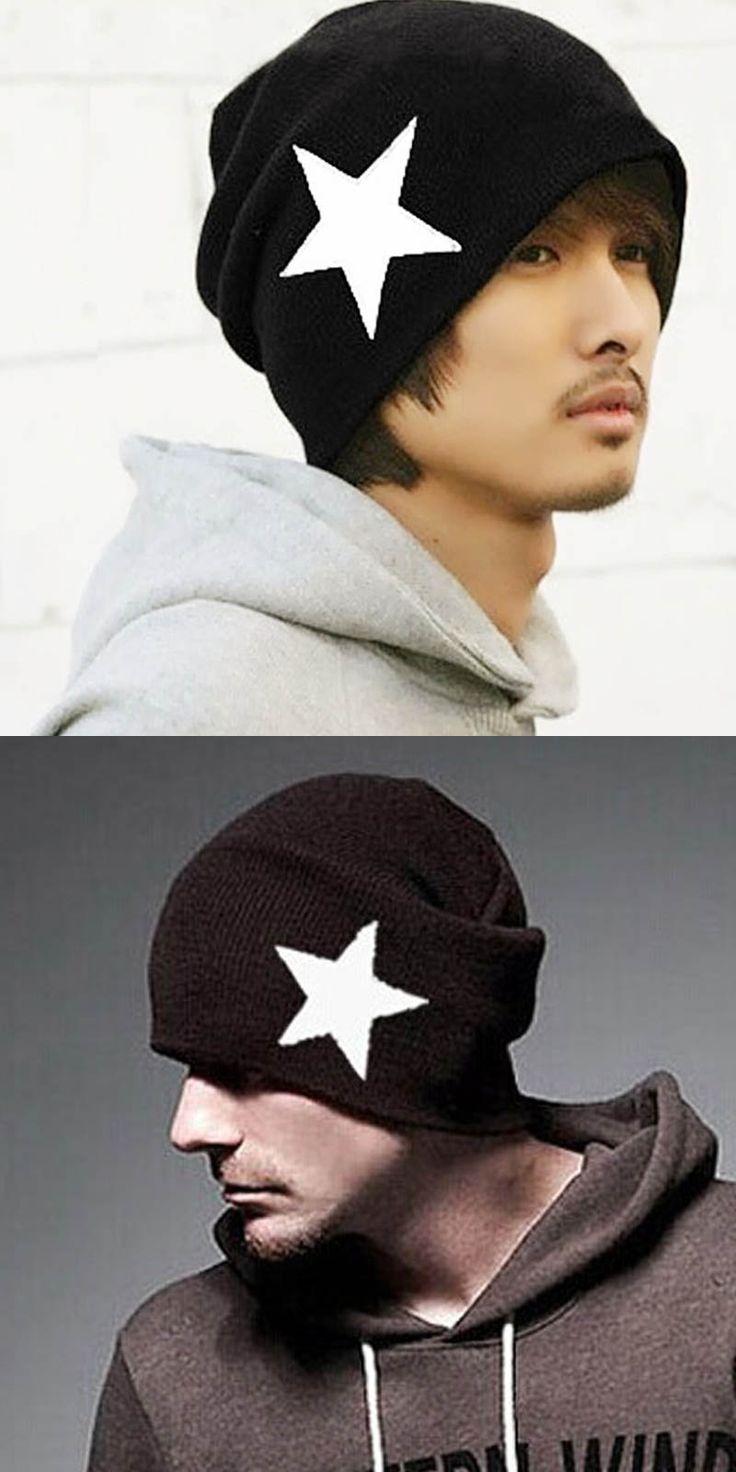 Fashion Woolen Beanies for Men Gorros de Lana Hombre Men's Winter Hat Toucas de Inverno Gorro Masculino Unisex Cappelli Cap