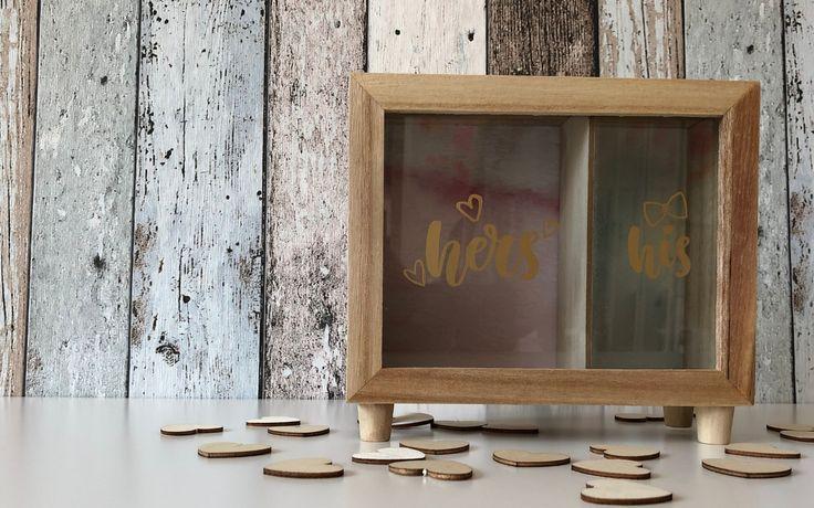 Spardose His & Hers als Geldgeschenk zur Hochzeit