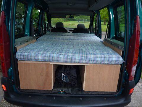 24 best renault kangoo camper images on pinterest. Black Bedroom Furniture Sets. Home Design Ideas