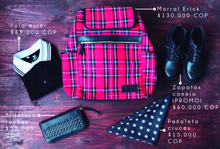 This season is full of Punk! Puedes encontrar estos productos en nuestra nueva tienda online: www.yosoyferoz.tiendanube.com