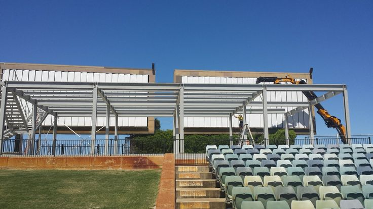 AlBaddad is keen to inform its new project - Multi Deck Mobile Hall for WACA Cricket Ground. The project uniqueness consists in the safety aluminum structure and installation time