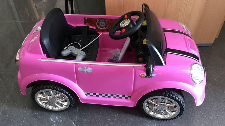 Oferta coches para niñ@s - Mini Mini rosa 6V RC. Schiano SCH937, IndalChess.com Tienda de juguetes online y juegos de jardin