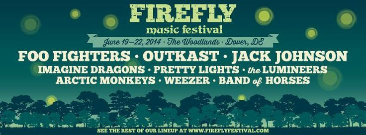 Firefly Music Festival Weezer, Foo Fighters, Imagine Dragons, More Announced For Firefly Music Festival