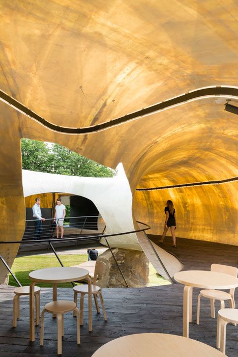 Smiljan Radic's Serpentine Gallery Pavilion photographed by Jim Stephenson.