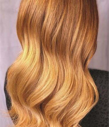 Managing Color Expectations Lightening And Blonding Amber Hair Colors Amber Hair Pravana Hair Color