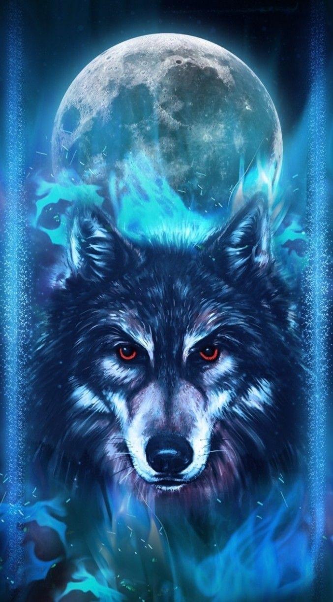 Pin by Marzena Kacz on Zwierzęta Wolf wallpaper Wolf art Fantasy wolf