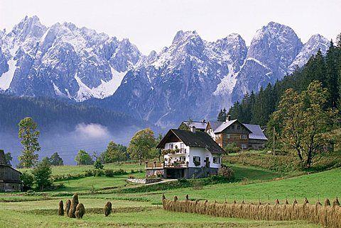 Dachstein Mountains, Austria, Europe