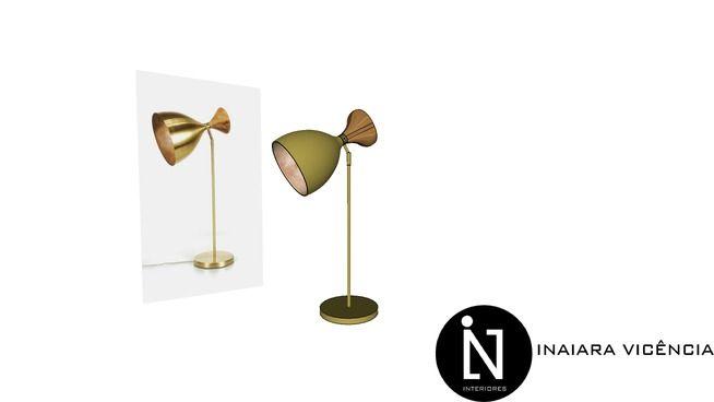 Luminária Bertolucci Cine A601 - 3D Warehouse