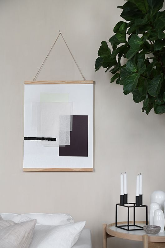 DIY Art with products from Panduro. More images can be found here: Trendenser.se