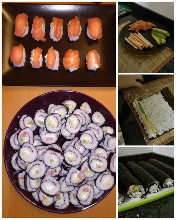 Mi primerita vez: Sushi!