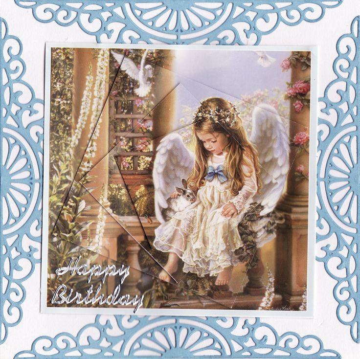 Angel pyramid Card (by Tassie Scrapangel)