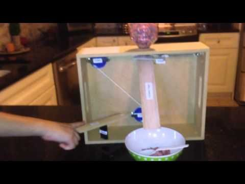 Ray's Simple Machine Project- The Cereal Dispenser - YouTube