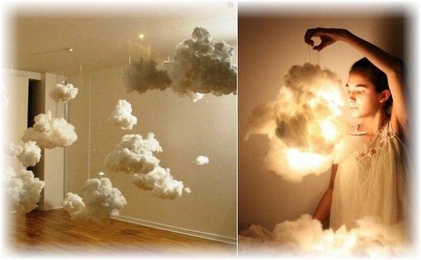 Облачный атлас – как сделать лампы из облаков своими руками - Как сделать? Сотни мастер-классов с фото. Лампы, светильники, люстры своими руками