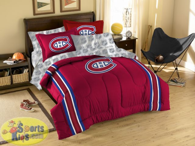 Canucks Twin Bedding