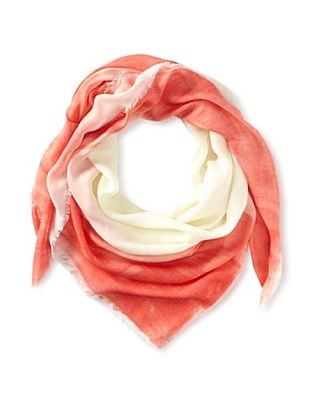 56% OFF Kenneth Jay Lane Women's Ombre Scarf, Coral Multi