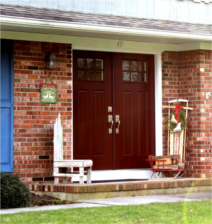 Best Color For Front Door On Brick House Part - 47: Best Front Door Colors For Brick House