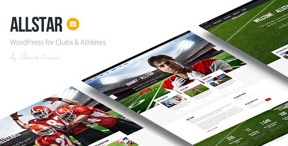 AllStar is a finished adaptable WordPress subject intended for Sporting Clubs, Teams, Athletes and Individuals. AllStar can be utilized as a multi-page site or as a solitary page site contingent upon your needs. AllStar's quality is its effortlessness and adaptability, the outline is secluded and adaptable making it amazingly well disposed and adjustable.