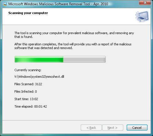 Microsoft Windows Malicious Software Removal Tool v5.10 (64-bit)