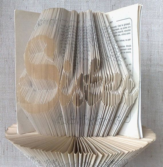 Book folding pattern and FREE Tutorial  Sister  by PatternsStore