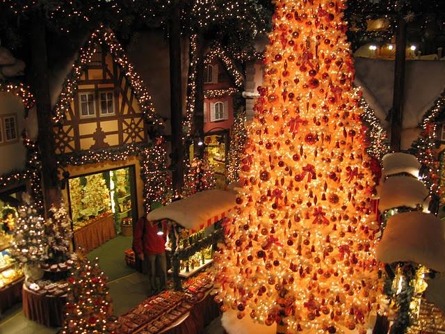 Christmas market in Rothenburg, Germany!