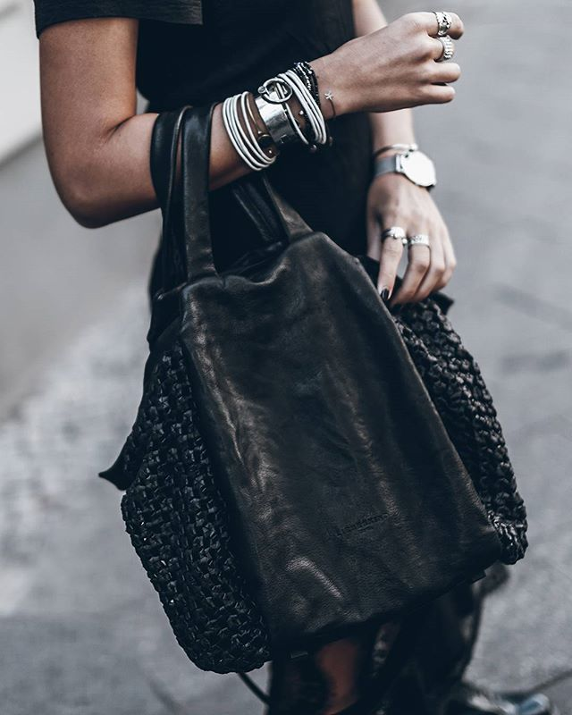 Bag  Black on black, Noda bag