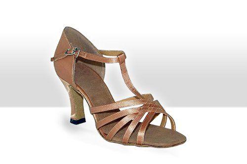 Exclusive Dance Shoes Damen Tanzschuhe Latein caramel 55mm Absatz - http://on-line-kaufen.de/exclusive-dance-shoes/exclusive-dance-shoes-damen-tanzschuhe-latein-2