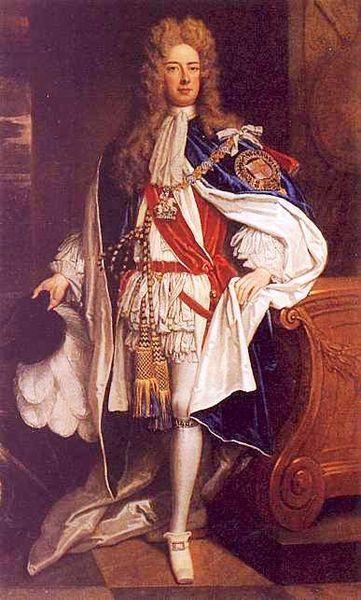 John Churchill, 1st Duke of Marlborough, by Sir Godfrey Kneller, c 1705. Husband of Sarah Jennings. Soldier and statesman under the Stuarts.