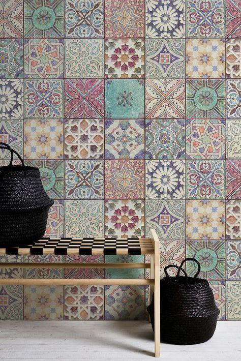 Tapete Ottavio In 2019 Terrasse Tiles Style Tile Und Handmade Tiles
