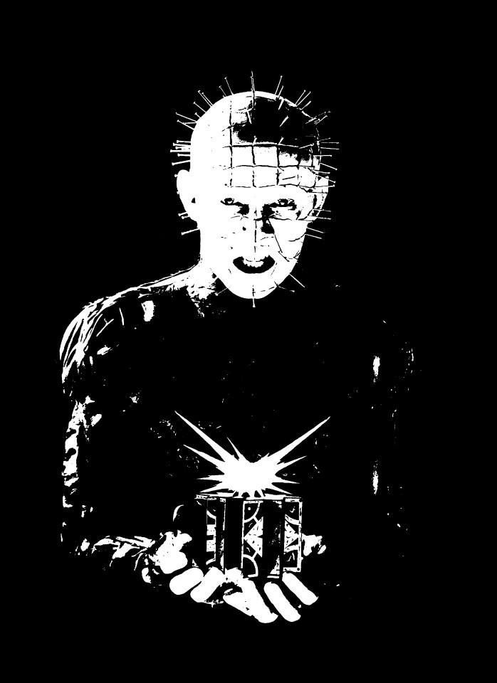 Pinhead from Hellraiser Pop Art Painting   Movies in 2019 ...