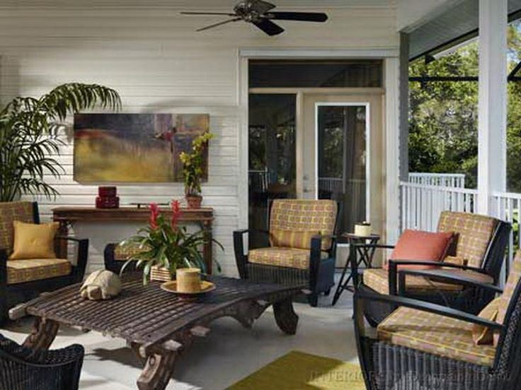52 best porch retreat images on pinterest - Screened In Patio Decorating Ideas